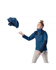 Kurtka turystyczna damska JASPER JKT W indigo blue