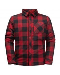Koszula dziecięca ocieplana WHITEVILLE SHACKET K Dark Lacquer Red Checks