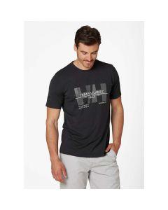 Koszulka Helly Hansen Racing T-shirt ebony