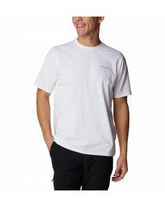 Koszulka męska Columbia Men SUN TREK SS Tee White