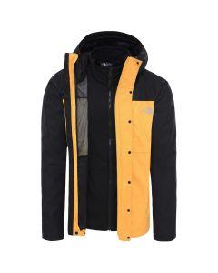 Kurtka przeciwdeszczowa The North Face Quest Triclimate yellow/black