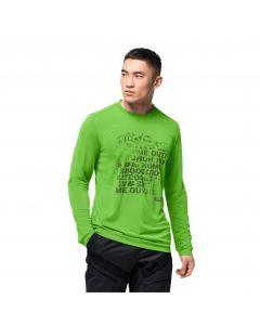 Koszulka z długim rękawem CROSSTRAIL PEAK LONGSLEEVE M leaf green