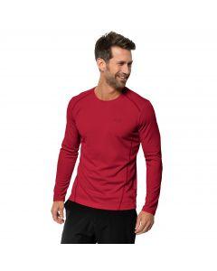 Koszulka męska SKY RANGE LONGSLEEVE M red lacquer