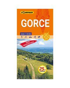 Mapa turystyczna Compass GORCE 1:40 000 laminowana
