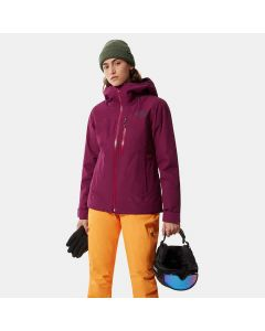Damska kurtka narciarska The North Face Descendit pamplona purple