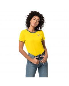 T-shirt damski 365 HIDEAWAY T W vibrant yellow