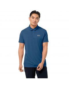 Koszulka sportowa męska JWP POLO M indigo blue