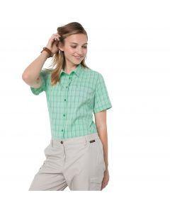 Koszula damska CENTAURA SHIRT W pacific green checks