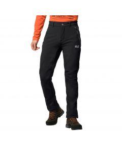 Softshelowe spodnie męskie ZENON SOFTSHELL PANTS MEN black