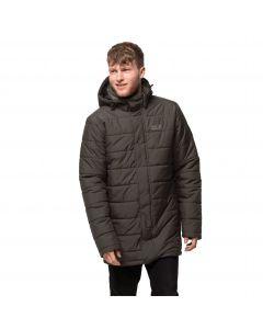 Płaszcz puchowy męski  SVALBARD COAT MEN brownstone