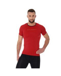 Męska koszulka do biegania Brubeck 3D PRO RUN SS11920 red