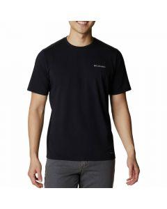 Koszulka męska Columbia Men SUN TREK SS Tee Black