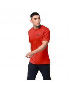 Koszulka męska TECH T M lava red