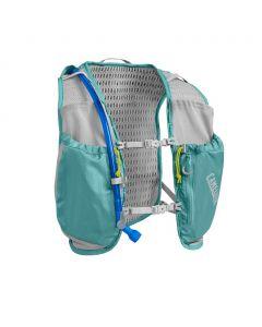 Damski plecak do biegania Camelbak Women's Circuit Vest 50 oz aqua/silver