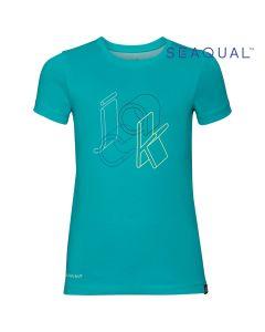 Koszulka dziecięca OCEAN T KIDS aquamarine