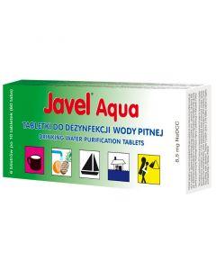 Tabletki do dezynfekcji wody pitnej JAVEL AQUA