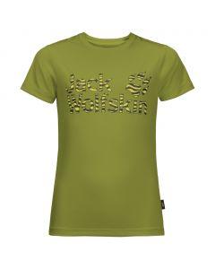 Dziecięca koszulka JUNGLE T KIDS green tea