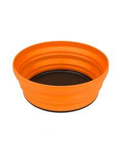 Składana miska turystyczna X-BOWL 0,65 L orange