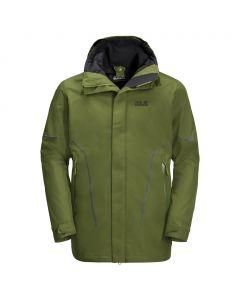 Przeciwdeszczowa kurtka męska TAIGA TRAIL JKT cypress green