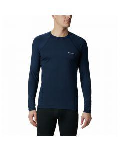 Koszulka termoaktywna Columbia Midweight Stretch LS Top collegiate navy