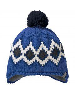 Czapka DIAMOND KNIT CAP KIDS coastal blue