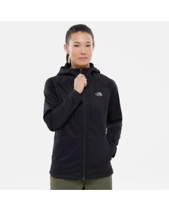 Polar damski The North Face Tech Mezzaluna Hoodie black