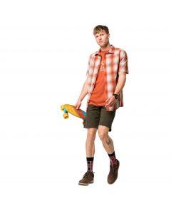 Koszula męska HOT CHILI SHIRT M saffron orange checks