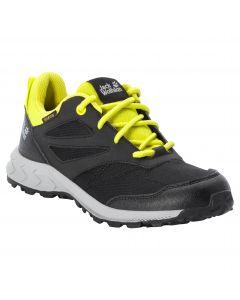 Buty dla dzieci WOODLAND TEXAPORE LOW K Black / Lime