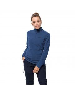 Bluza polarowa damska ZERO WASTE REBELITA W porcelain blue