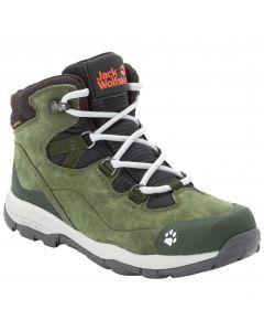 Buty trekkingowe dla dzieci MTN ATTACK 3 LT TEXAPORE MID K khaki / phantom