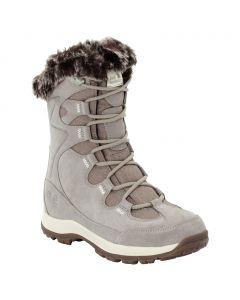 Damskie buty zimowe GLACIER BAY TEXAPORE HIGH W light grey / champagne