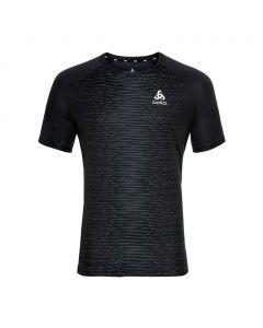 Koszulka męska Odlo Essential Print T-shirt black/graphite