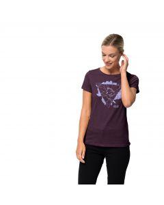 Damski T-shirt HANA T W aubergine