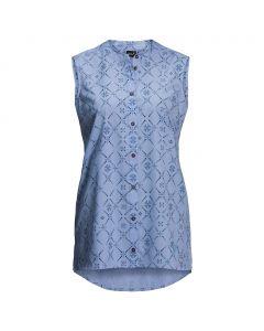 Koszulka damska SONORA MAORI SLEEVELESS shirt blue all over