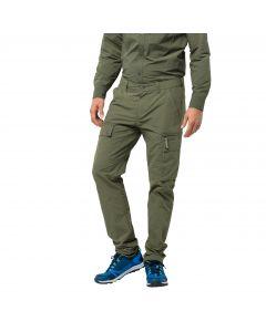 Męskie spodnie trekkingowe LAKESIDE PANTS M woodland green