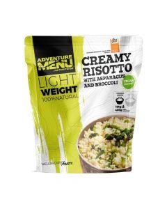 Żywność liofilizowana ADVENTURE MENU Kremowe risotto ze szparagami i brokułami 124g