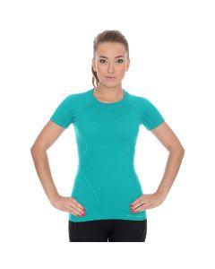 Koszulka damska Brubeck Active SS11700 emerald