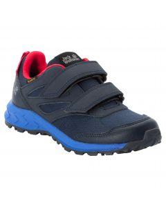 Buty dziecięce WOODLAND TEXAPORE LOW VC K Dark Blue / Red