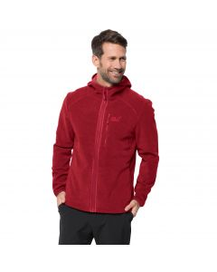 Kurtka polarowa męska SKYWIND HOODED JACKET M dark lacquer red