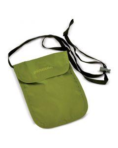 Paszportówka turystyczna na szyję Pinguin NECK SECURITY SMALL green