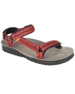 Sandały damskie Lizard Hike digit rebo red