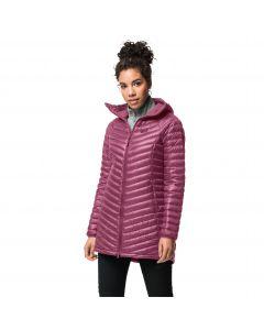 Płaszcz puchowy damski ATMOSPHERE COAT W Violet Quartz