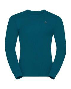 Męska koszulka termoaktywna Odlo ACTIVE WARM ECO LS Baselayer deep dive