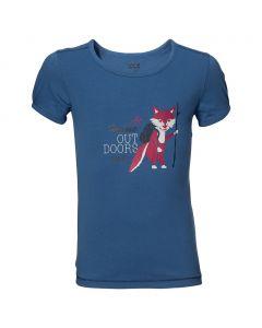 Koszulka WILDERNESS T G peacock blue