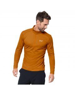 Męska koszulka SKY RANGE HALFZIP M rusty orange