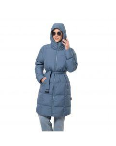 Płaszcz puchowy damski FROZEN LAKE COAT W frost blue
