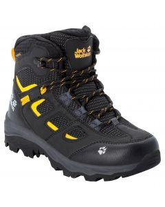 Buty turystyczne dziecięce VOJO TEXAPORE MID K Black / Burly Yellow