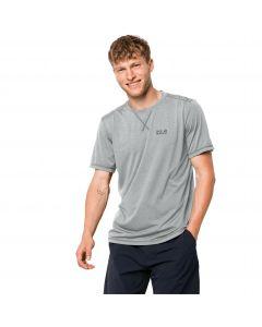 Koszulka męska CROSSTRAIL T MEN silver grey