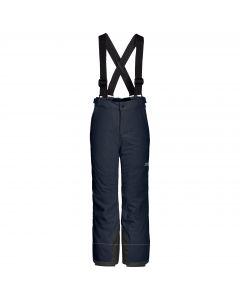 Dziecięce spodnie narciarskie POWDER MOUNTAIN PANTS KIDS night blue