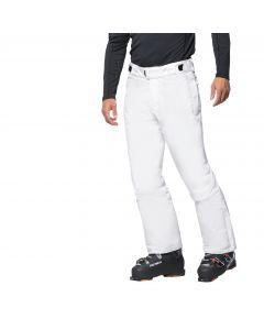 Męskie spodnie narciarskie POWDER MOUNTAIN PANTS M white rush
